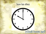 The Spanish Clock (El Reloj)