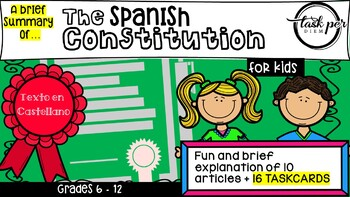 The Spanish Constitution for kids