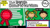 {{ TASKCARDS}} The Spanish Constitution for kids (IN SPANISH)
