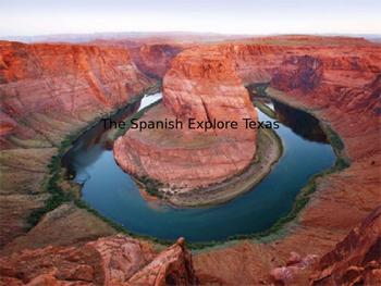 The Spanish Explore Texas