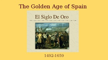 The Spanish Golden Age - Theatre History Presentation