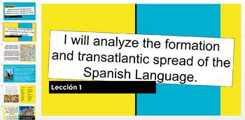 The Spanish Language, A Brief History