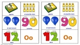 The alphabet, Colors, Numbers, Days & Months in Spanish. Lottery (Board Game).