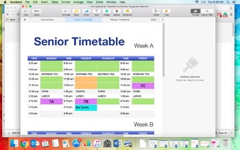 The Specialist Teacher's Ultimate Organisational Bundle - Apple Numbers File