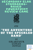 The Speckled Band Test ELA PowerPoint Review Multiple-Choice Game
