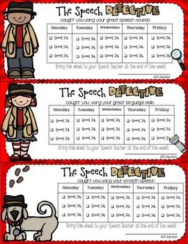 The Speech Detective: Carryover Program
