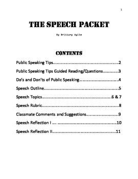 The Speech Packet