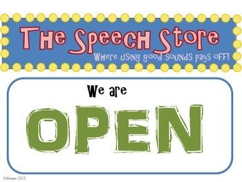 'The Speech Store' A Reward & Behavior System