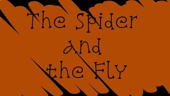 The Spider and the Fly Poem Analysis