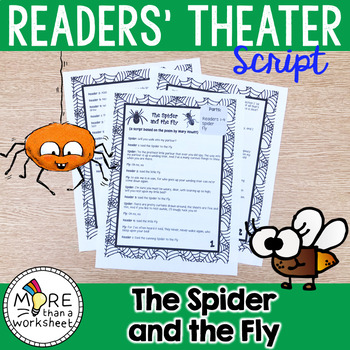 The Spider and the Fly Reader's Theater Script