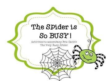 The Spider is So Busy!