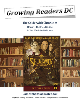 The Spiderwick Chronicles Book 1: Comprehension Notebook