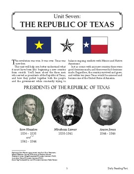 The Spirit of Texas: The Republic of Texas