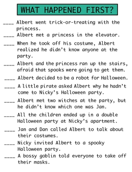 The Spooky Halloween Party Literature unit