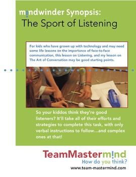 The Sport of Listening ~ Rules of the Game