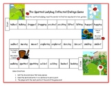 The Spotted Ladybug Inflected Endings Game Literacy Station RF.1.3, RF.2.3