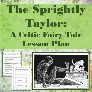 The Sprightly Taylor: A Celtic Fairy Tale Lesson Plan