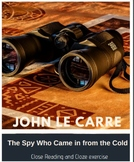 The Spy Who Came in From the Cold - Cloze Activities