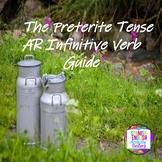 Preterite Tense - AR Infinitive Verb