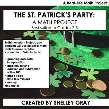 The St. Patrick's Party: A March Math Project for Grades 2-3 | Real Life Math