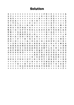 The St. Valentine's Day Massacre 1929 Word Search