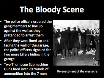 The St Valentine S Day Massacre Primary Source Unit By Lunalu Tpt