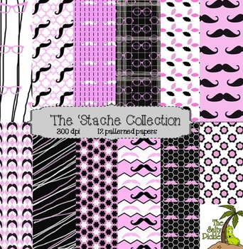 The 'Stache Paper Collection