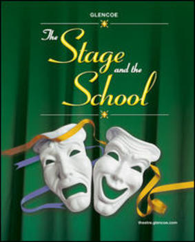"""Theater Arts Vocab Power Points (Based on """"The Stage and the School"""" ch 1-9)"""