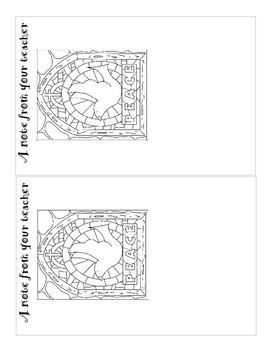 The Stained Glass activity sheets