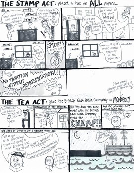 The Stamp Act and The Tea Act