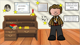 The Star-Spangled Banner Interactive Room and Lesson (Google Slides)