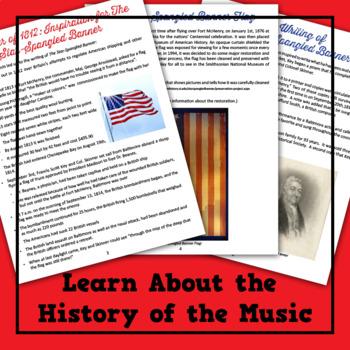 The Star-Spangled Banner Musical Lesson Plan