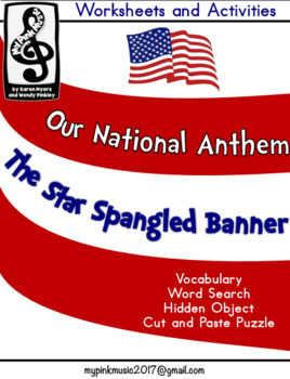 The Star-Spangled Banner (National Anthem) MUSIC Activities
