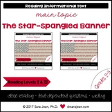 The Star-Spangled Banner • Reading Comprehension Passages & Questions • RL I/II
