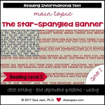 Star Spangled Banner Test Teaching Resources Teachers Pay Teachers