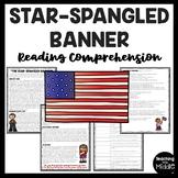 The Star-Spangled Banner Reading Comprehension Worksheet National Anthem