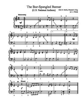 The Star-Spangled Banner (arr. J. Poteat)