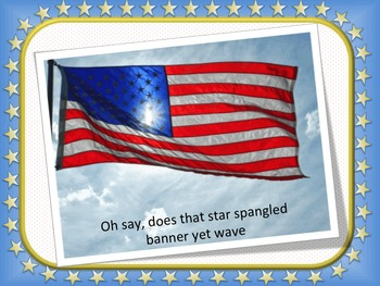 The Star Spangled Banner video