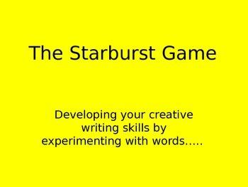 The Starburst Game - Sensory Writing