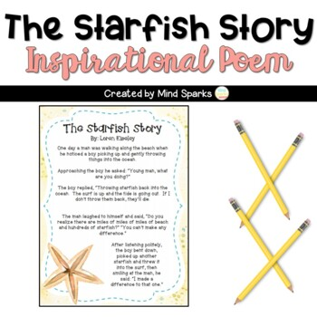 image relating to Starfish Story Printable identify The Starfish Tale