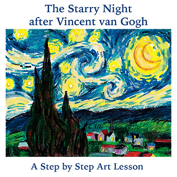The Starry Night after Vincent van Gogh