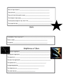 The Stars Student Fill In Notes