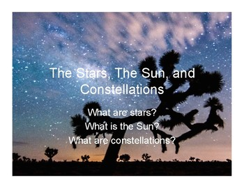 The Stars, The Sun, and Constellations