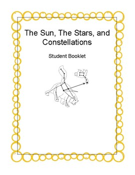 The Stars, The Sun, and Constellations Packet