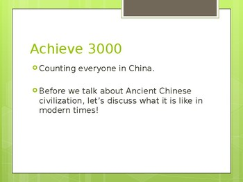 The Start of Ancient Chinese Civilization