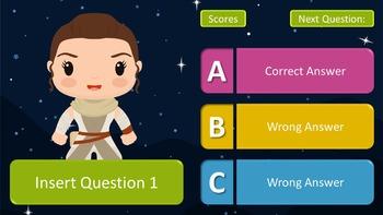 Star Wars Powerpoint Quiz Game