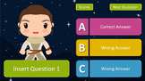 Star Wars Powerpoint Quiz Game