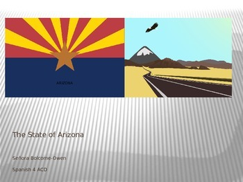The State of Arizona Power Point Presentation