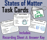The States of Matter Task Cards (Change of Phase Activity)