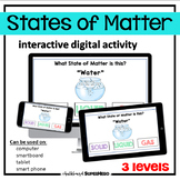 The States of Matter interactive digital activity